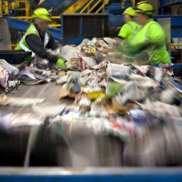 Recykling, sortownia